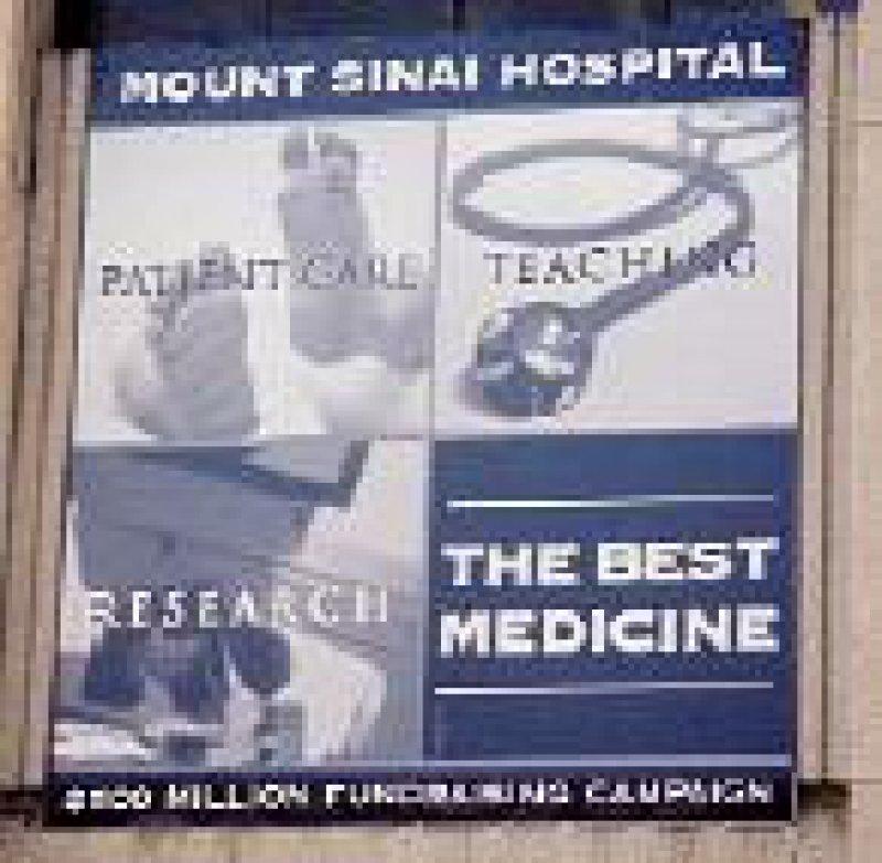 Den Patientinnen des Mount Sinai Hospital steht ein breites Spektrum an hoch spezialisierten Leistungen zur Verfügung.