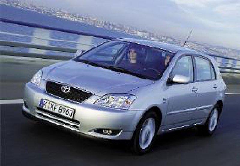 Bulliger und solider, weil die Europäer dies mögen: der neue Toyota Corolla. Werkfoto
