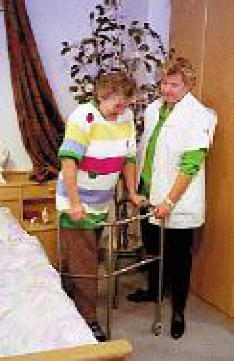 Unterfinanziert: die Pflege. Foto: BilderBox