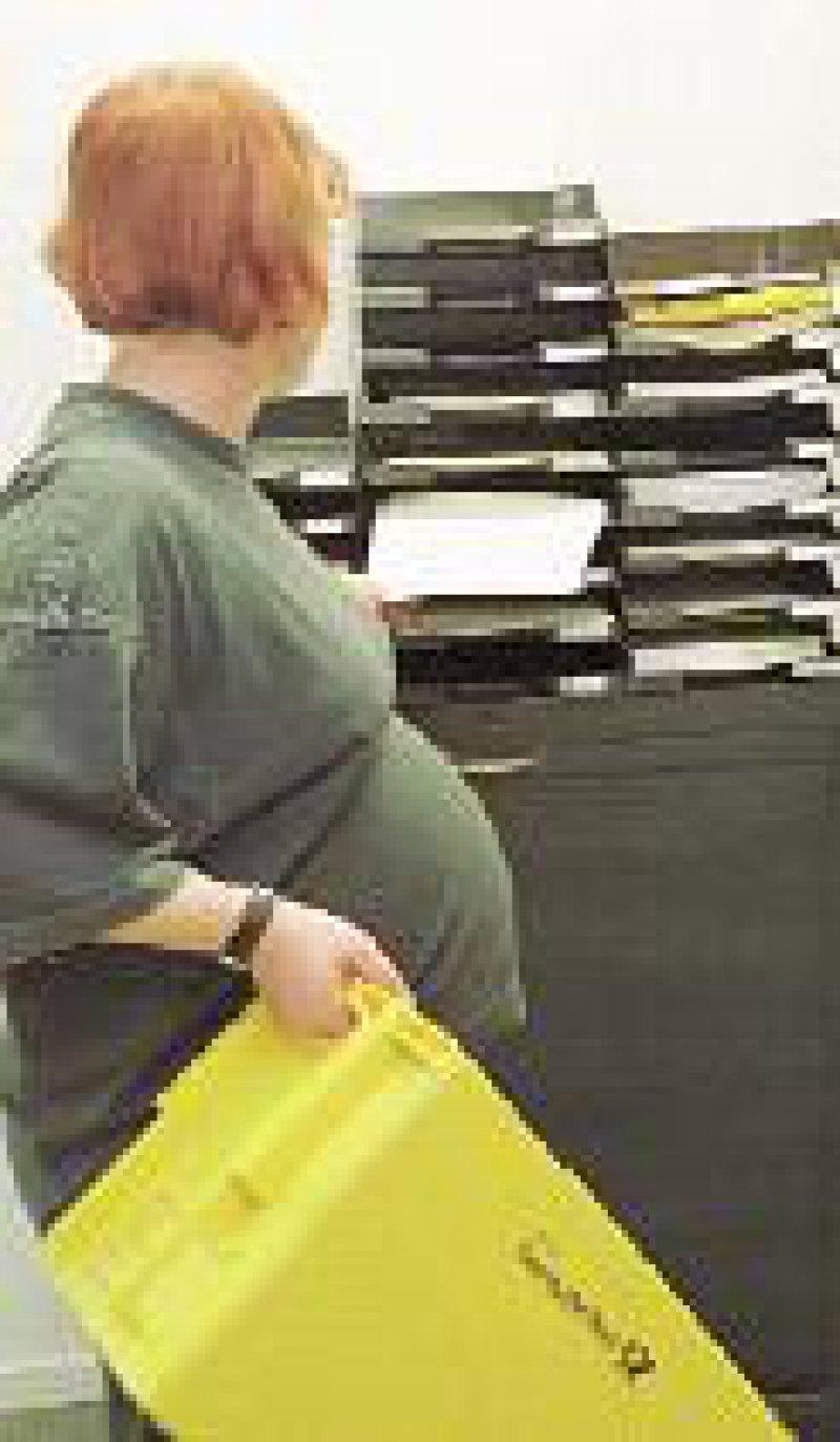 Arbeitgeber dürfen Schwangere anderweitig einsetzen. Foto: ddp