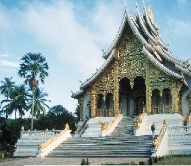 Wat Ho Phra Bang – in Luang Prabang. Fotos: Gesine Petter