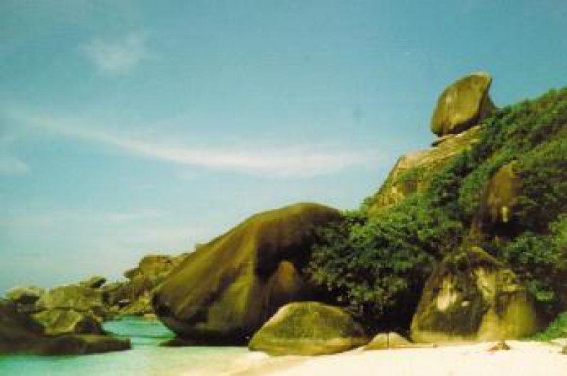Abseits der Touristenrouten: Koh Siliman in Süd-Thailand Foto: Erika Amann