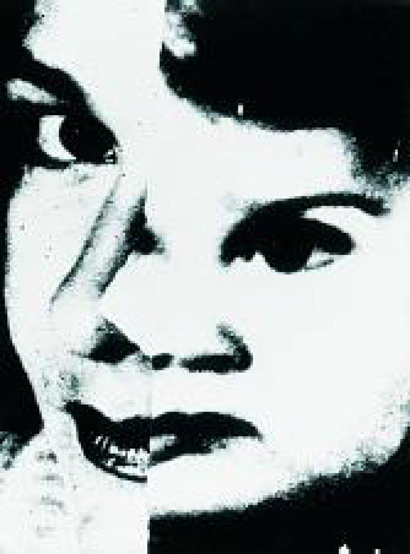 """""""Dornröschen"""", Schwarz-Weiß-Foto auf Papier, 100 cm x 76 cm, rückseitig signiert, datiert 1993/2001. Foto: Eberhard Hahne"""