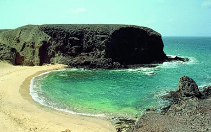 Fotos: Spanisches Fremdenverkehrsamt Lanzarote: Playa del Papagayo