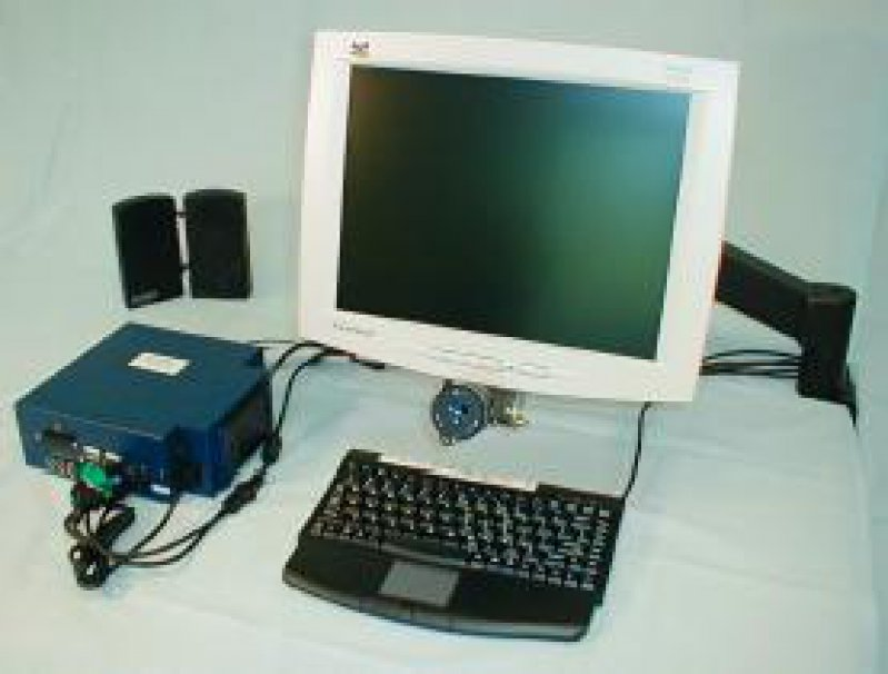 Abbildung 1: Das Eyegaze-System