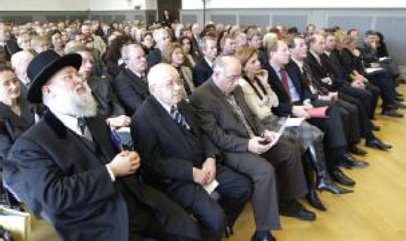 Gedenkveranstaltung im Centrum Judaicum. Auf einer Pressekonferenz hatte die KV Berlin zuvor über ein Forschungsprojekt berichtet. Foto: Burkhard Lange