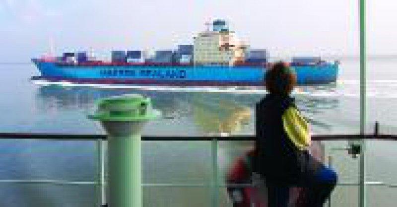 Foto: Frachtschiff-Touristik