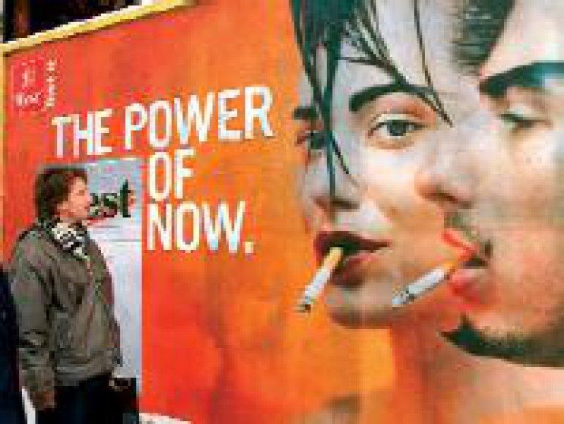 Zur Eindämmung des Rauchens plädiert die WHO für ein Werbeverbot. Foto: dpa