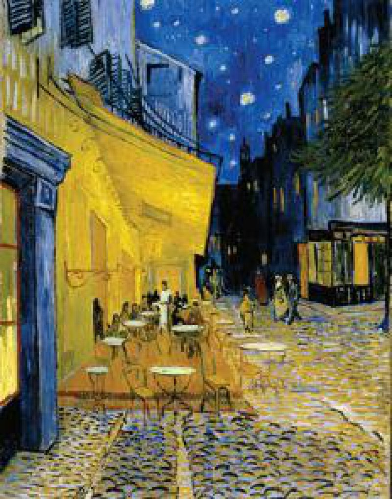 Caféterrasse bei Nacht Fotos: sichting Kröller-Müller-Museum