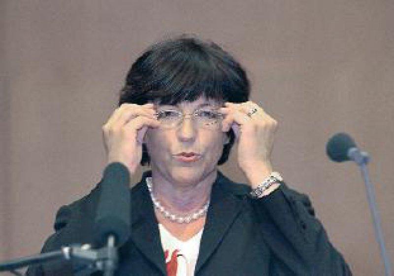 Hatte Durchblick in der Gesundheitspolitik beim 106. Deutschen Ärztetag: Ulla Schmidt, Bundesministerin für Gesundheit und Soziale Sicherung