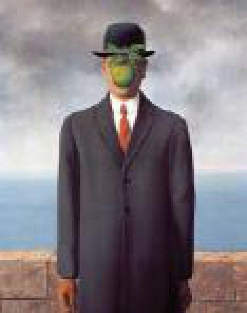 René Magritte, Der Menschensohn, 1964