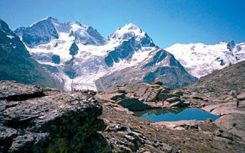 Piz Corvatsch: Imposante Bergkulisse Fotos: Mondial Tours GmbH