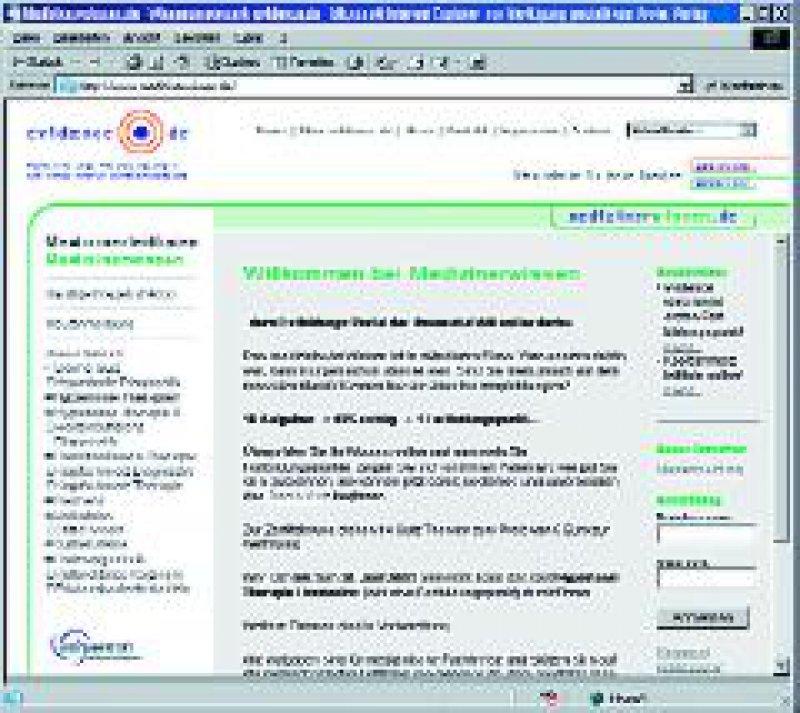 Das Fortbildungsportal www.medizinerwissen.de