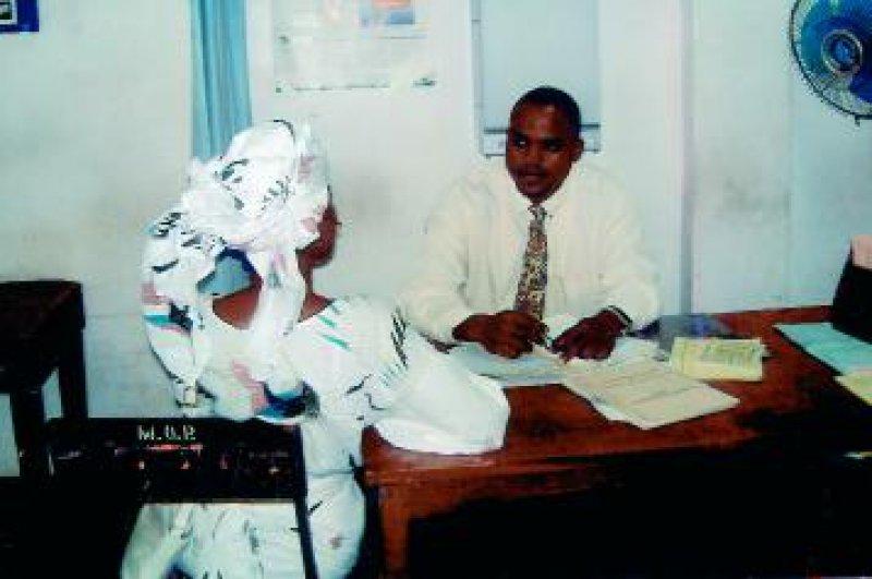 Nur wenige haben die Möglichkeit zur Sprechstunde in die psychiatrische Abteilung des Krankenhauses in Ibadan zu kommen. Fotos: Dorothee Klecha