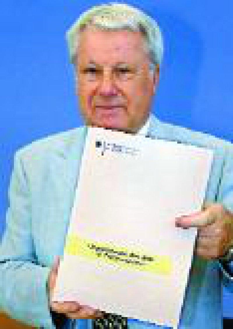 Joachim Jacob, der Bundesbeauftragte für den Datenschutz Foto: dpa