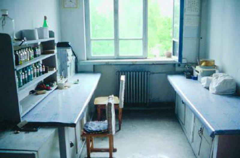 Zentrallabor eines Krankenhauses Fotos: Irenäus A. Misera