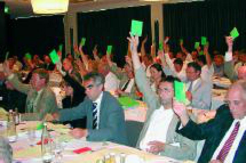 Die Delegierten der Vertreterversammlung stimmten Mitte Juni in Berlin einer Organisationsreform zu. Foto: KBV