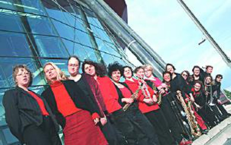 Das United Women's Orchestra Foto: UWO