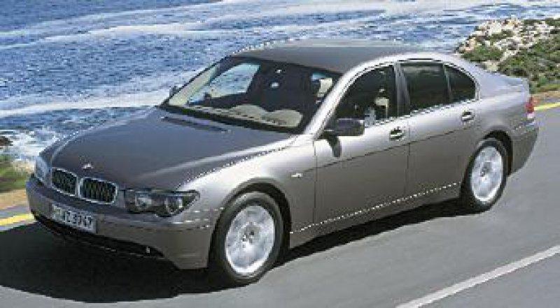 Umstrittenes Design und zukunftsweisende Technik: der BMW 745 i Foto: BMW