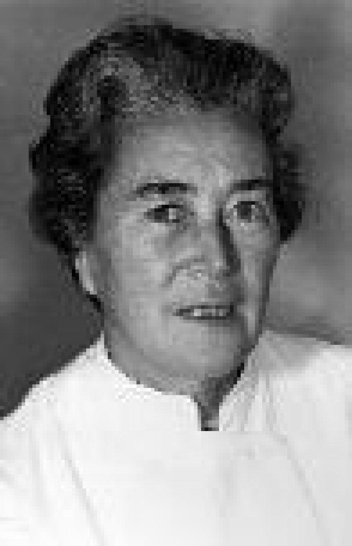 Klinikchefin in Jena, Rosemarie Albrecht, in ihren besten Jahren Foto: Ärzteblatt Thüringen