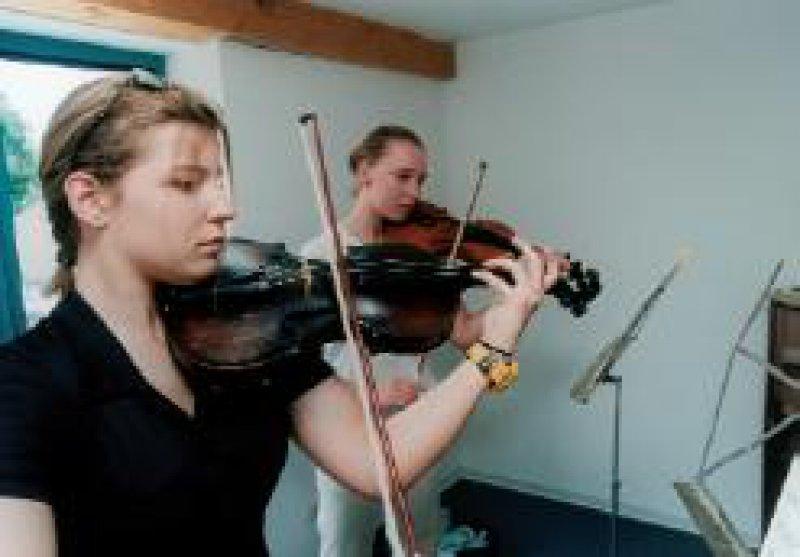 Foto: Landschulheim am Solling Musik ist ein Schwerpunkt des Lehrplans.
