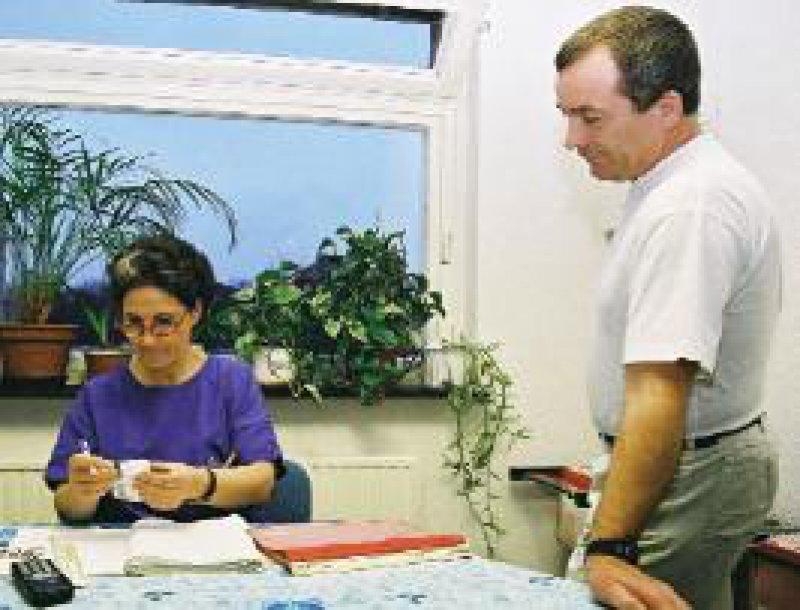 Klare Absprachen erleichtern die tägliche Arbeit.