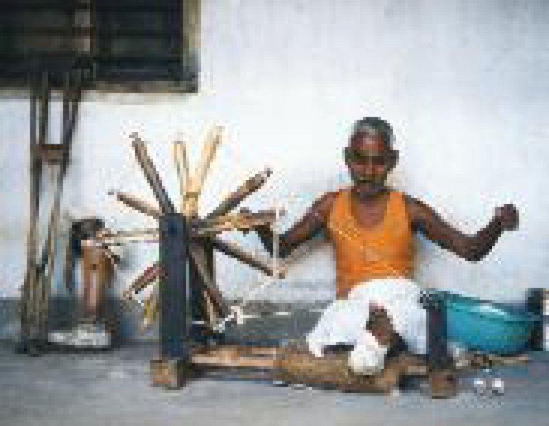 Das Hilfswerk unterstützt auch die soziale Rehabilitation Leprakranker. Foto: DAHW