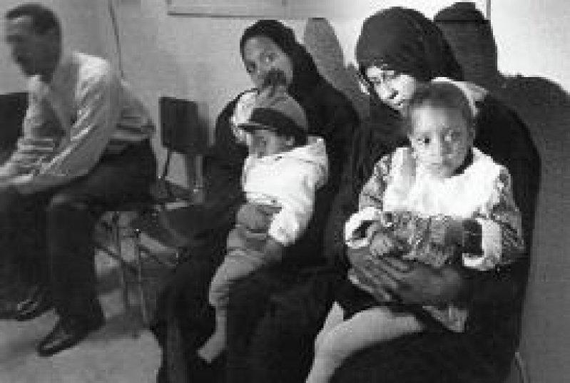 Jedes achte irakische Kind stirbt, bevor es das fünfte Lebensjahr erreicht, zum größten Teil an Diarrhö oder Atemwegserkrankungen.