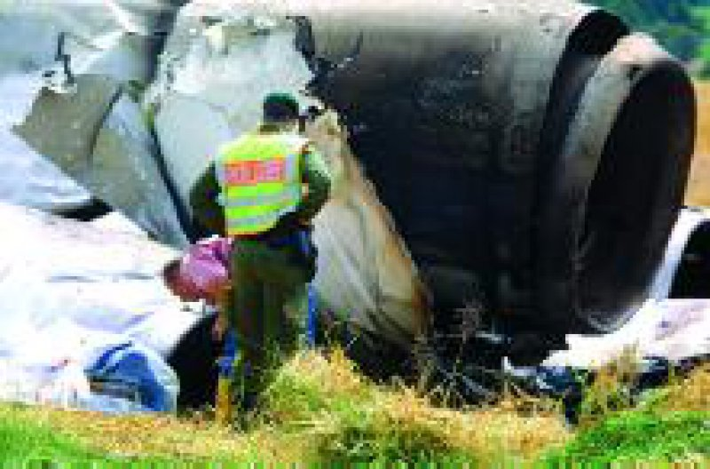 Bei dem Flugzeugabsturz am Bodensee im Juli 2002 starben 71 Menschen. Foto: dpa