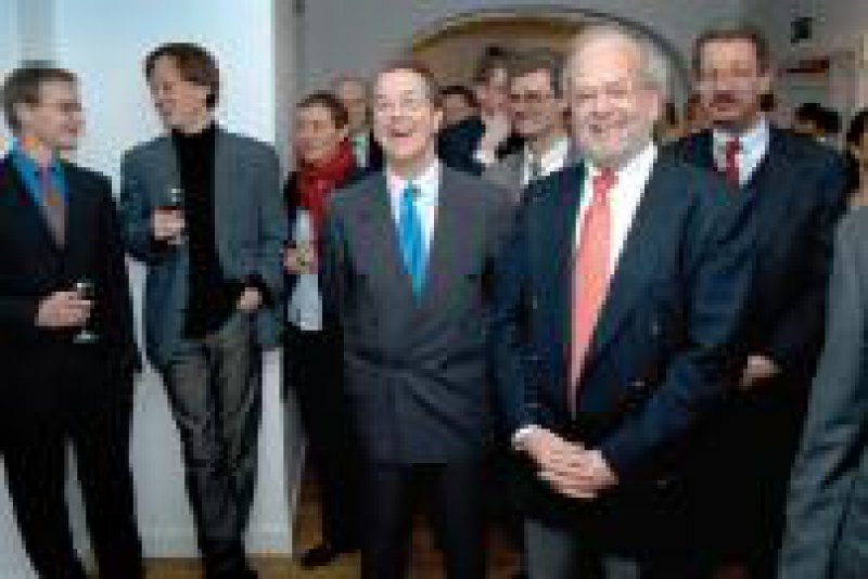 Foto: Daniel Rühmkorf Der SPD-Fraktionsvorsitzende Müntefering zu Gast beim BFB