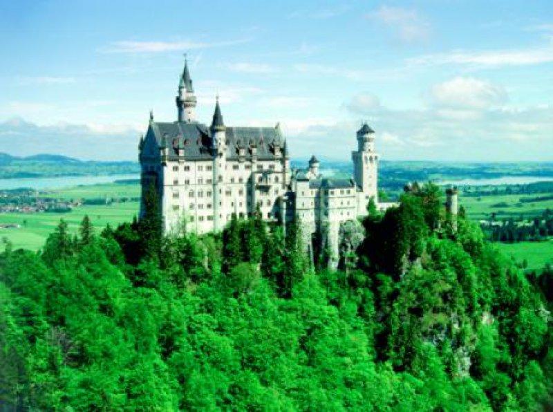 Schloss Neuschwanstein bei Füssen Fotos: Hans Georg Westrich