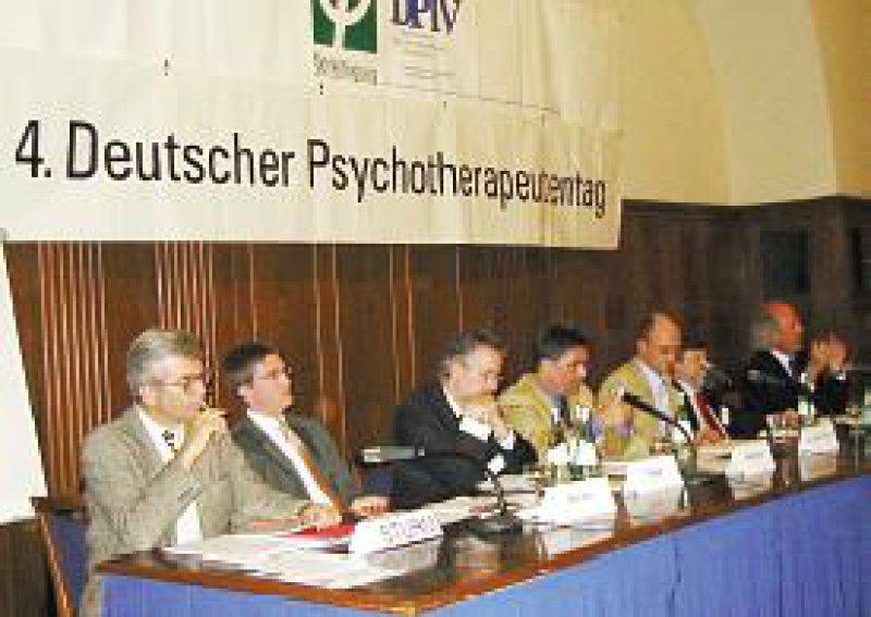 Die Psychologischen Psychotherapeuten fordern mehr Mitwirkung. Foto: Heribert Joisten