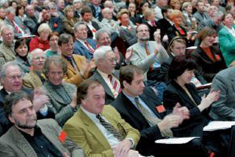 Delegierte beim außerordentlichen Deutschen Ärztetag Foto: Georg Lopata