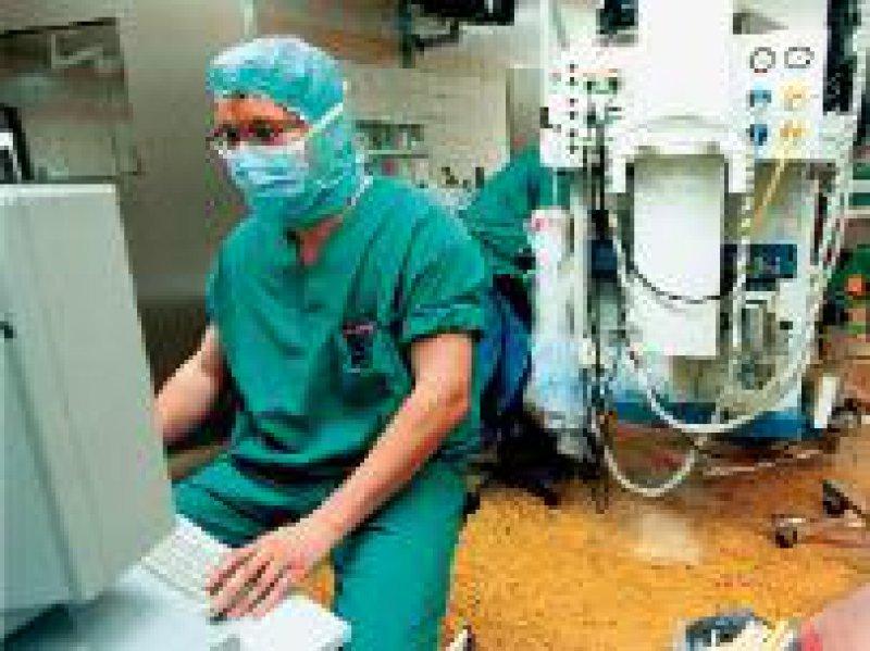 Hoch sensible Daten werden im Gesundheitsbereich verarbeitet. Foto:VISUM