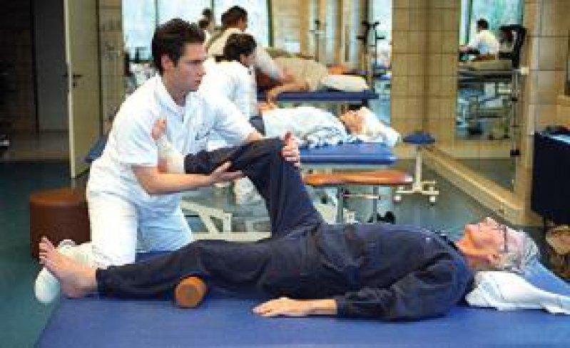 Sechs Einheiten Krankengymnastik,dann könnte erst einmal Schluss sein. Foto: Caro