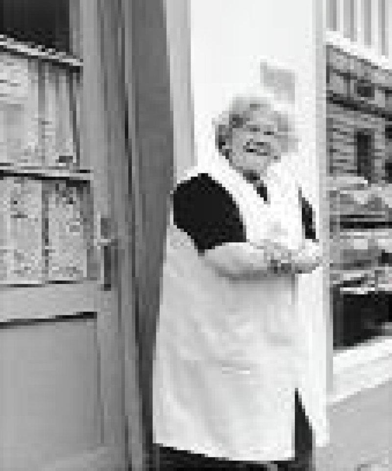 Waltraud B., 65 Jahre, Bäckermeisterin, betreibt eine 1926 gegründete Bäckerei in Berlin-Spandau.