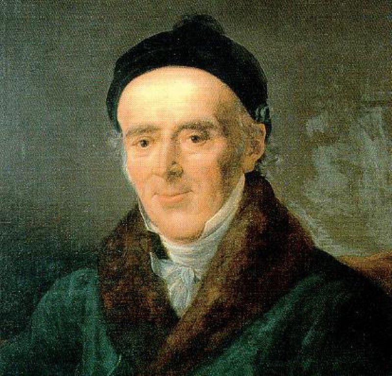 Hahnemann, porträtiert von seiner zweiten Frau Mélanie (1835) Fotos: Bildarchiv Institut für Geschichte der Medizin der Robert Bosch Stiftung