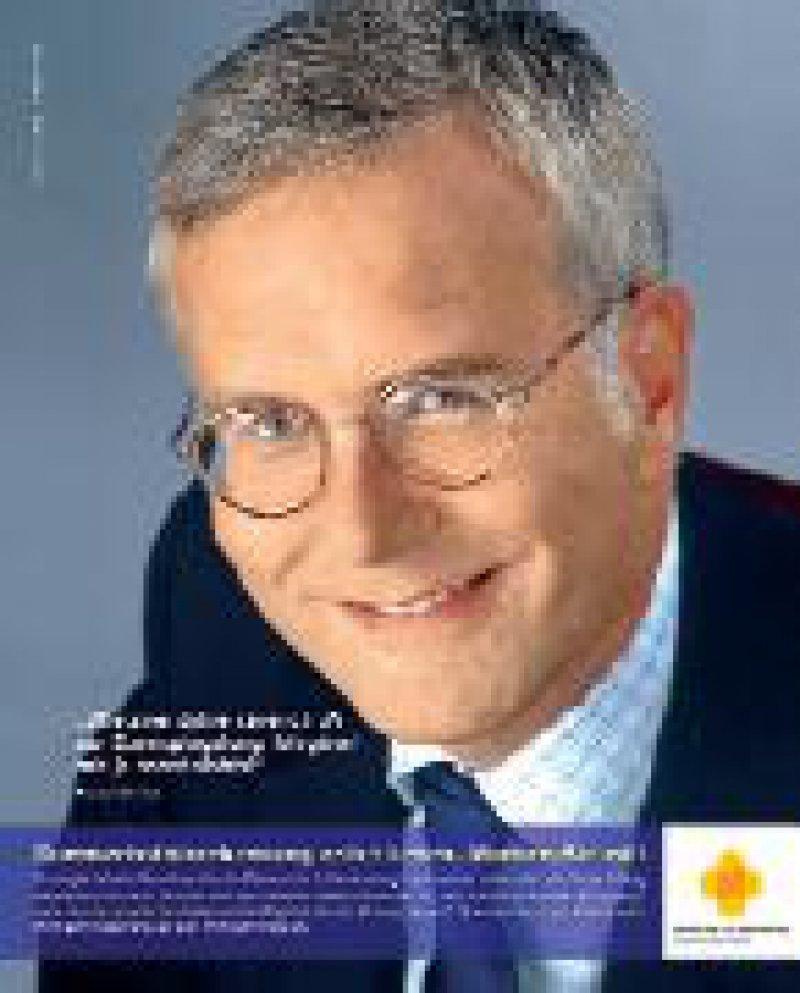 Foto: Felix Burda Stiftung Anzeige aus der Kampagne der Felix Burda Stiftung zur Darmkrebsvorsorge