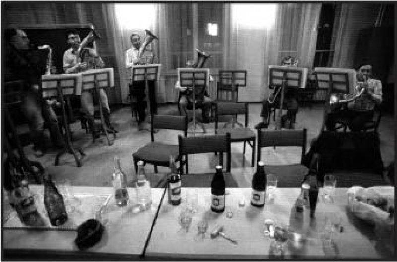 Imre Benkö: Blaskapelle der Gießereiarbeiter, Ózd, 1989