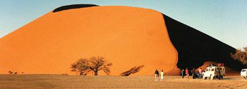 Die Düne 45 ist mit 325 Metern die höchste Namibias.