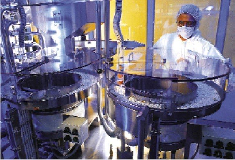 Produktionsanlage von Aspirin® im Werk Bitterfeld Foto: Bayer AG