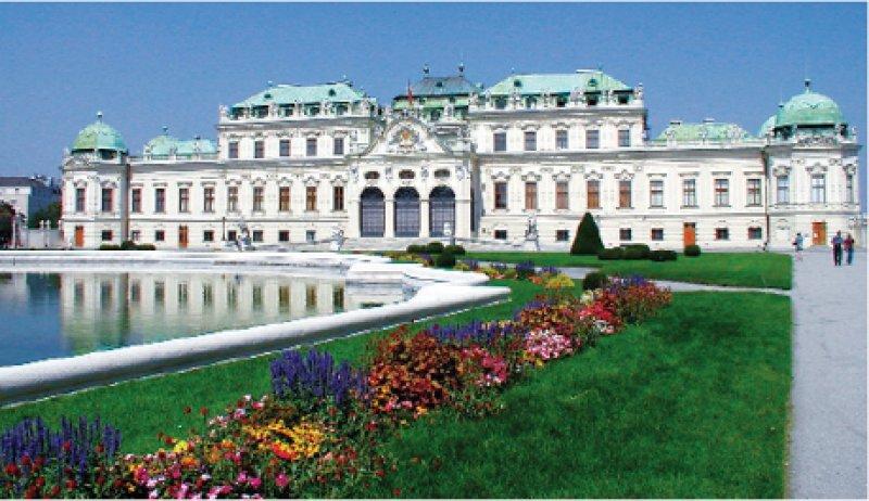 Schloß Belvedere in Wien Fotos: Mondial Tours GmbH