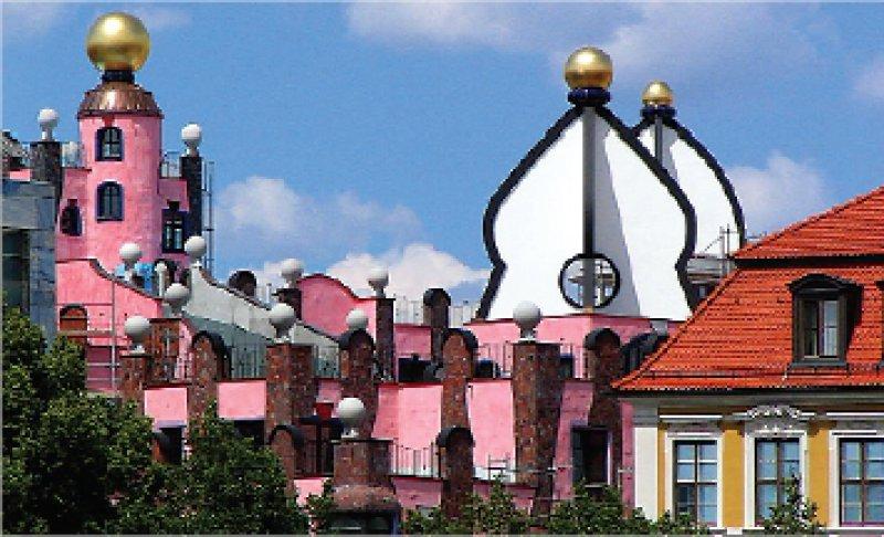 Hundertwasserhaus Magdeburg Foto: Julia Bucher