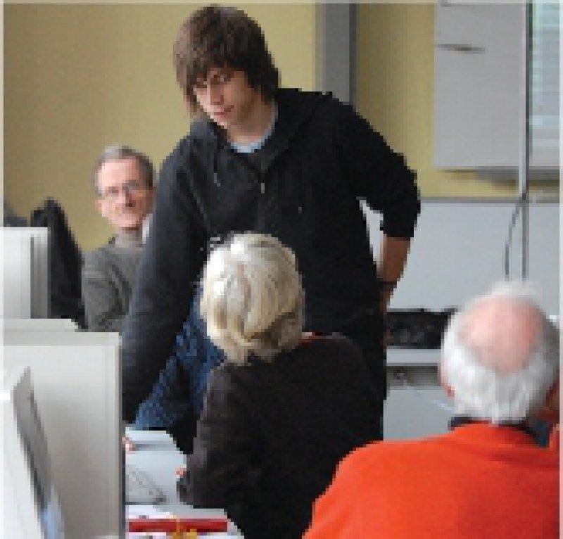 Bildungshungrige Senioren wünschen sich altershomogene Gruppen. Foto: ddp