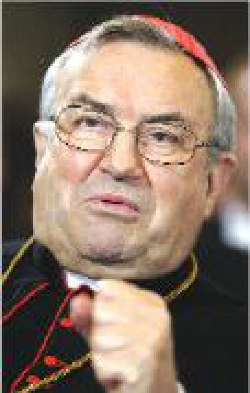 Karl Kardinal Lehmann Foto: dpa