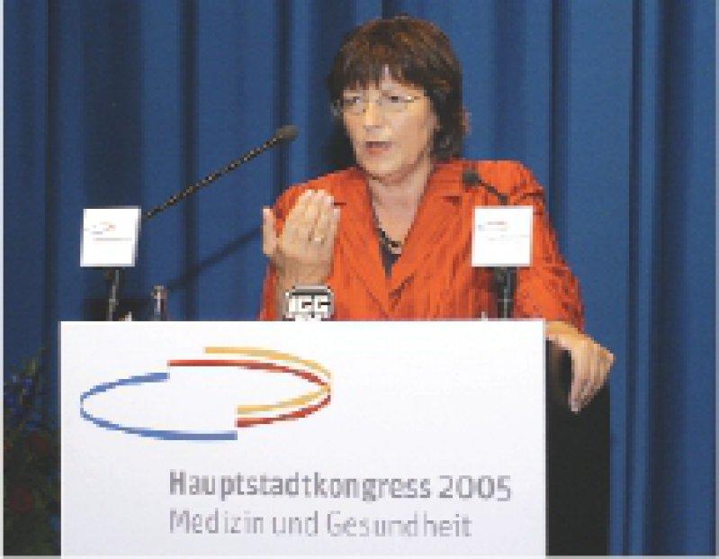Wie im Vorjahr wird Bundesgesundheitsministerin Ulla Schmidt zur Eröffnungsveranstaltung erwartet. Foto: Thomas Räse