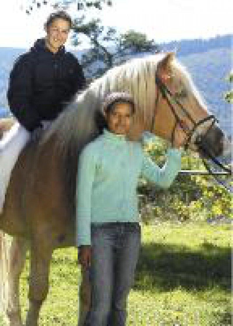 Reiten und Pferdepflege ist für die Realschüler Unterrichtsfach. Fotos: Institut Schloß Wittgenstein