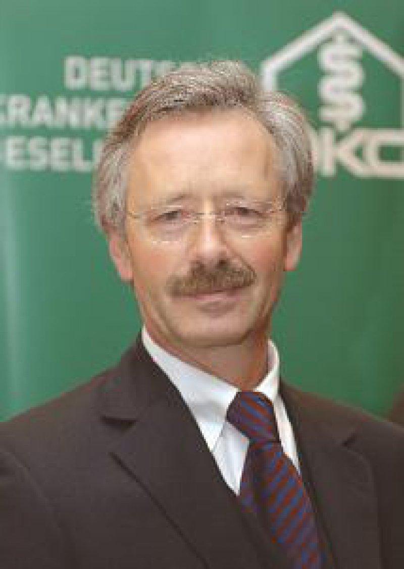 Georg Baum, Hauptgeschäftsführer der DKG: Die Belastbarkeitsgrenze der Krankenhäuser ist ohnehin seit langem erreicht. Foto: DKG