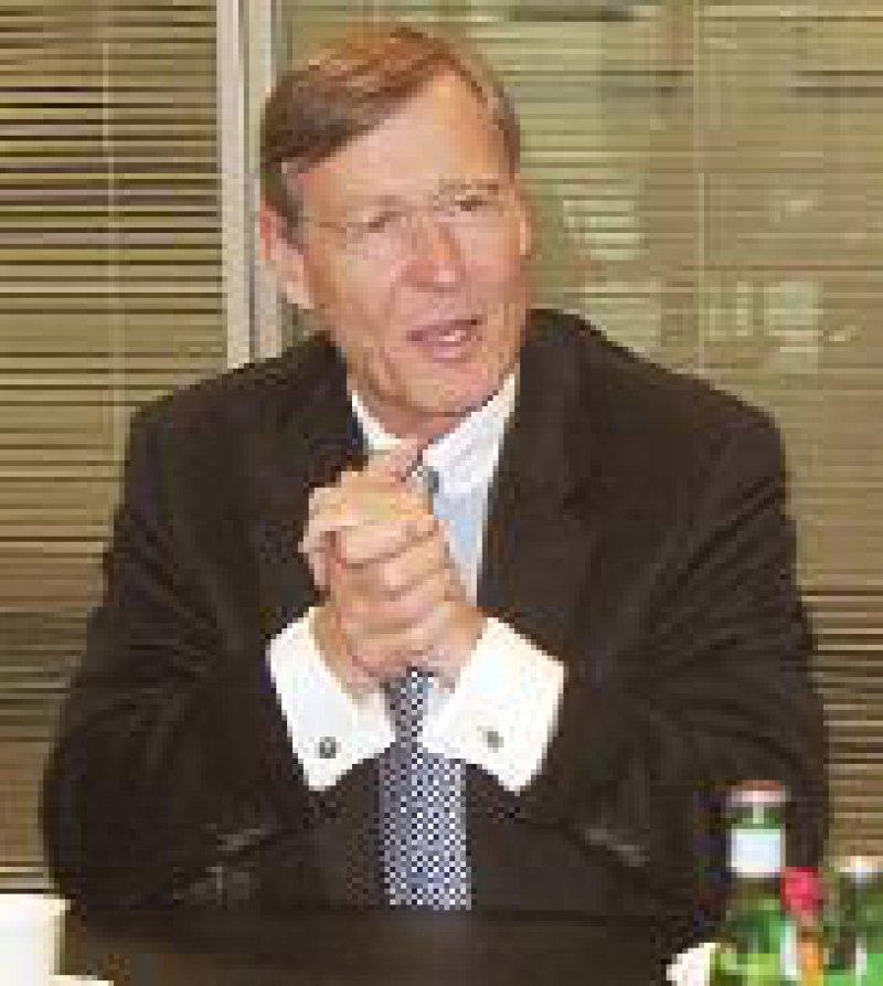 Günter Preuß (61) ist seit 1995 Mitglied im apoBank-Vorstand. Seit 2004 fungiert er als Sprecher.