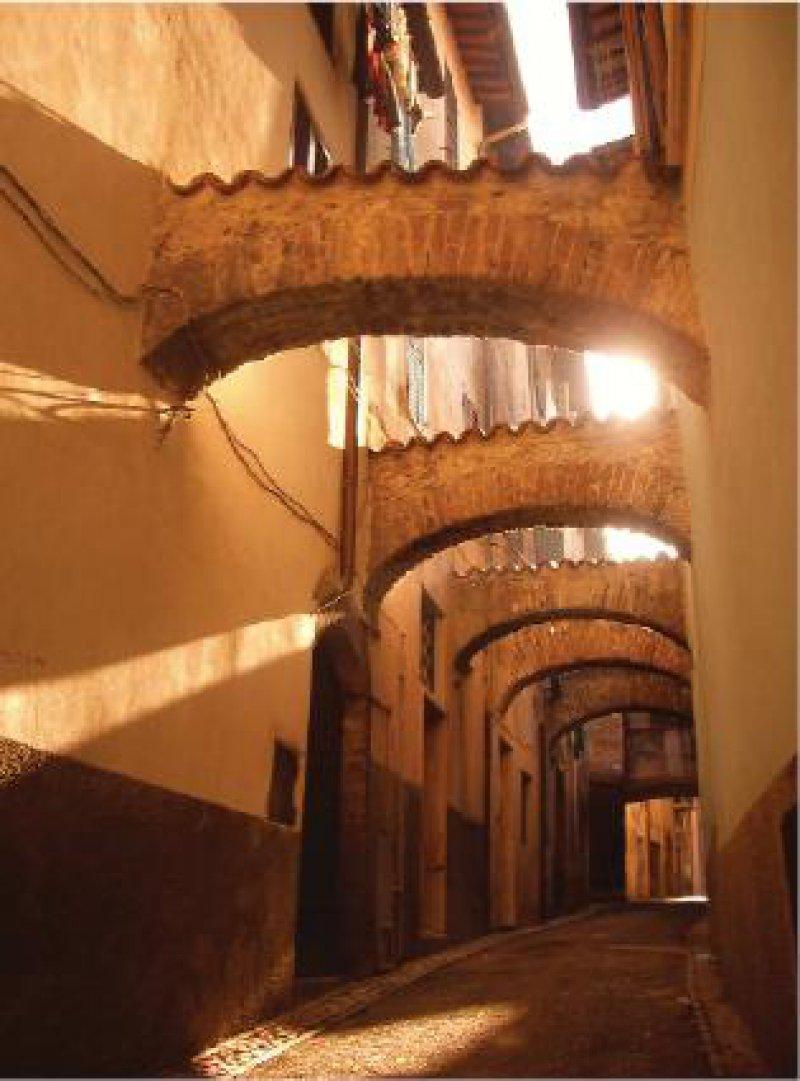 Gasse im umbrischen Städtchen Spoleto